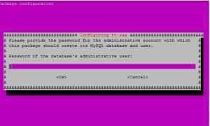 tt-rss root mysql password