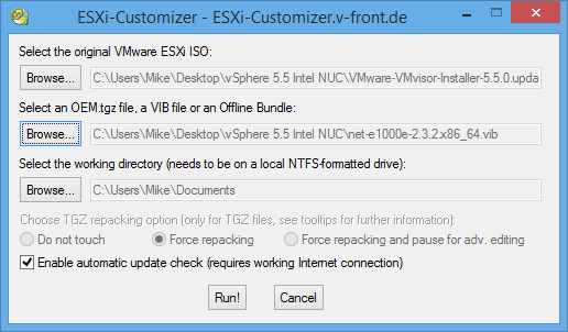 ESXi-Customizer 01