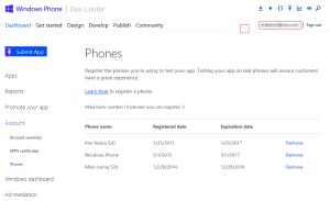 Un-Register Phone
