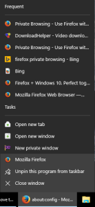 Firefox - Frequent