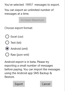 Moving from Windows 10 Mobile to Android – Tip 3